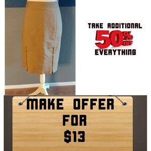Worthington Skirt Plus Size 14W